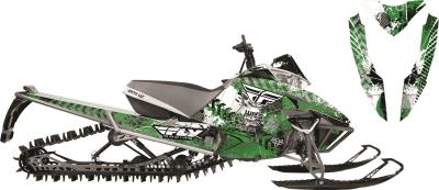 ARCTIC FX GRAPHICS FLY RACING BOMBSQUAD GRAPHIC