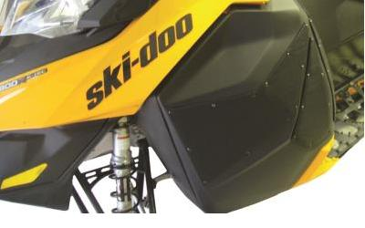 2 COOL SKI-DOO REV XM AIR VENTS