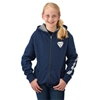 Youth Full-Zip Hoodie With Slingshot Logo