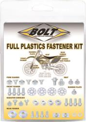 BOLT MOTORCYCLE HARDWARE FULL PLASTIC FASTENER KITS