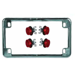 CHRIS PRODUCTS LICENSE PLATE FRAMES