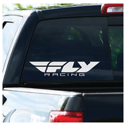 FLY RACING FLY DIE CUT WINDOW DECAL