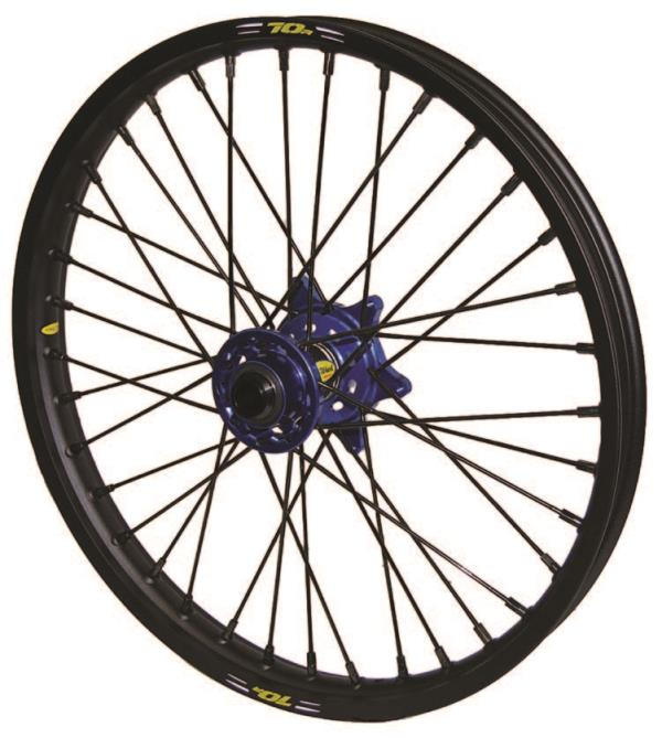 Pro Wheel Racing Components Mx Front Wheel Sets From Western Power