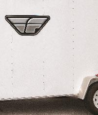 FLY RACING F WING TRAILER STICKER
