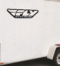 FLY RACING FLY TRAILER STICKER