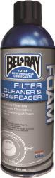 BEL RAY FOAM FILTER CLEANER AND DEGREASER