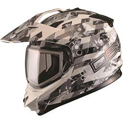 GMAX DSG GM-11S CHECKED OUT HELMET