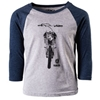 Factory Effex Yamaha Bike Youth Baseball Tee