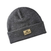 Mens Knit Patch Beanie