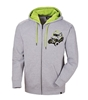 Mens Full Zip Sketch Hoodie