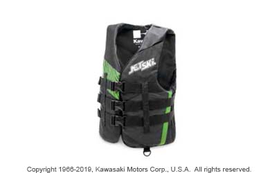 JET SKI UNLEASHED 3 BUCKLE NYLON VEST