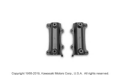 Fixed Windshield Fork Bracket Kit From Kawasaki Vulcan S
