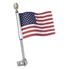 Show Chrome Accessories 12 Inch Flag Pole Mount