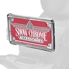 Show Chrome Accessories License Plate Trims