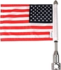 Show Chrome Accessories Folding Flag and Pole Mount