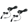 Rugged Radios Helmet Headset Kit for Rear Passengers