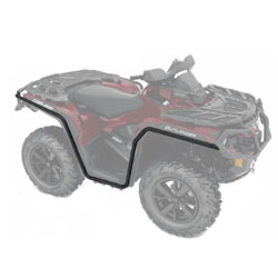 El can Renegade 800r 12-15 MX Force protectores guardamanos