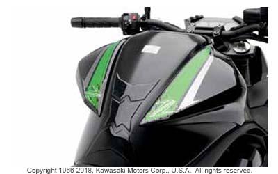 TANK PAD SET from Kawasaki Sport / Dual Sport Genuine Accessories