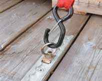 ANCRA S LINE O TRACK SINGLE STUD ANCHOR