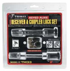 TRIMAX RECEIVER AND COUPLER LOCK SET