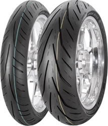 AVON STORM 3D XM SPORT TOURING RADIAL AV65 FRONT AND AV66 REAR TIRES