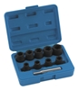 BIKEMASTER 10 PIECE 1/2 INCH DRIVE TWIST SOCKET SET