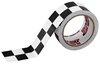 ISC BLACK AND WHITE CHECKERBOARD TAPE