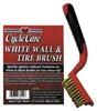 CYCLE CARE RED TIRE BRUSH FOR WHITEWALL TIRES