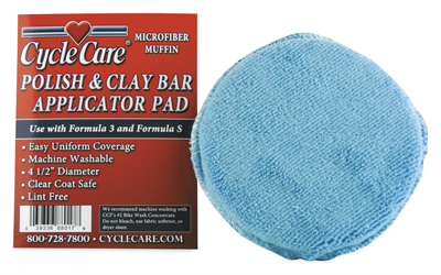 CYCLE CARE POLISH AND CLAY BAR APPLICATION PAD