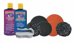 WIZARDS SCRATCH AND SWIRL REMOVAL BUFFER PAD KIT