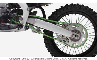 RK EXW GREEN RACING CHAIN