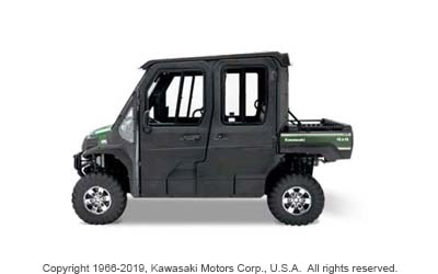 HARD CAB ENCLOSURE FOR MULE PRO-FXT / DXT