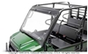 FLIP-UP POLYCARBONATE WINDSHIELD