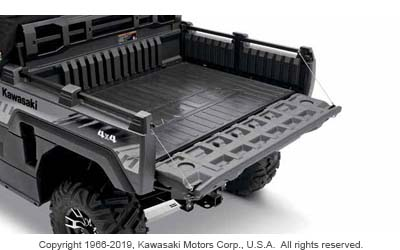 CARGO BED MAT FOR MULE PRO-FXR