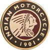 Indian Motorcycle Circle Icon Pin Badge