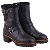 Short Engineer Womens Boots