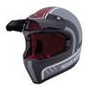 Adventure Matte Stripe Helmet