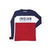 Colorblock Long Sleeve Mens Tee
