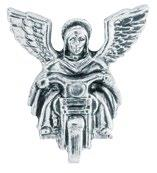 ALL AMERICAN LEATHER GUARDIAN ANGEL PIN TO RIDE WITH YOU