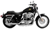 RUSH 3 IN. SLIP-ON MUFFLERS FOR SPORTSTER
