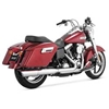 VANCE & HINES SWITCHBACK TWIN SLASH 2:1 SLIP-ON