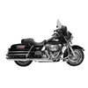 RUSH 4 IN. BIG LOUIE MUFFLERS FOR DRESSER AND ROAD KING