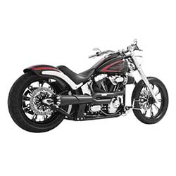 FREEDOM PERFORMANCE EXHAUST AMERICAN OUTLAW HIGH 2-INTO-1 FOR SOFTAIL MODELS