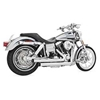 FREEDOM PERFORMANCE EXHAUST STAGGERED DUALS EXHAUST SYSTEM FOR DYNA MODELS