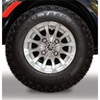 10 In. 12-Spoke J-Series All-Terrain Alloy Wheel Assembly