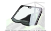 KQR Glass Full Windshield