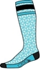 DIVAS WOMEN'S MERINO WOOL LIGHTWEIGHT PERFORMANCE SOCKS