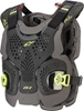 ALPINESTARS A-1 PLUS CHEST PROTECTOR BLACK/ANTH/HI-VIS MD/LG