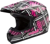 GMAX MX-46 PINK RIBBON RIDERS HELMET