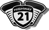 HIGHWAY 21 DECAL
